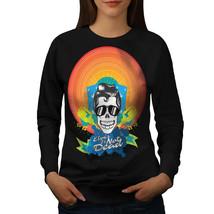 Elvis Skull Jumper Crazy Women Sweatshirt - $18.99