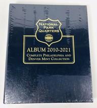 Whitman Classic Coin Album 3057 National Park Quarter 2010-2021 P & D Mints - $21.84