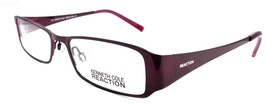 Kenneth Cole REACTION KC0717 082 Women's Eyeglasses 49-17-130 Violet + Case - $54.41