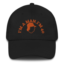 I'M A MAN! I'M 40! Hat / Mike Gundy Hat / Dad hat image 1