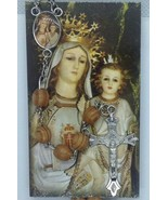 Our lady of Mercy Rosary Olive wood Jerusalem virgen de La Mercedes Rosario - $12.75