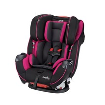 Evenflo Convertible Car Seat Adjustable Headrest Raspberry Sorbet Toddle... - $232.60