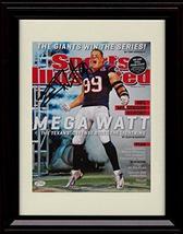 Framed JJ Watt - Houston Texans Sports Illustrated Autograph Replica Print - $39.99