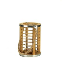 Strand Wooden Candle Lantern - $41.14