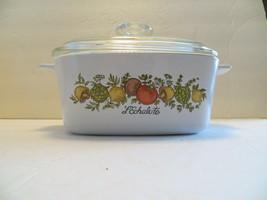 Corning Ware Spice of Life L'Echalote 1 1/2 Quart Casserole Dish A-1 1/2-B w Lid - $34.99