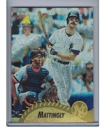DON MATTINGLY 1995 Pinnacle Museum Collection #21 E4510 - $6.26