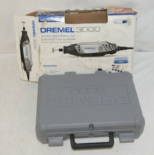 Dremel 3000 F0133000AZ Variable Speed Rotary Tool 25 Accessories 1 Attachment