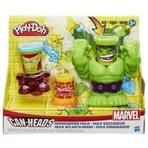 Hasbro 2015 Play-Doh Smashdown Hulk Featuring Marvel Can-Heads - $21.73