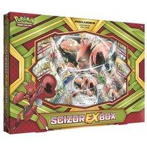 Pokemon Cards Pokscizorexbx Cards Pokmon TCG: Scizor-EX Box Game, Green - $18.42