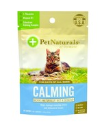 Pet Naturals of Vermont, Calming, For Cats, 30 Chews, 1.59 oz (45 g) mas... - $12.00