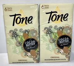 12 Large Tone Original Cocoa Butter Bar Bath Soap 4.2 Oz Each (2 Six Packs) - $43.95