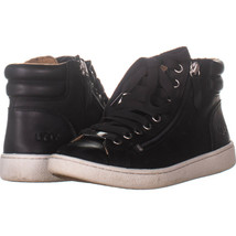 UGG Australia 2569 High Top Sneakers, Black 454, Black, 7.5 US - $44.15