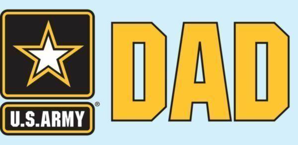 "United States Army Star ""DAD"" 3"" x 6.25"" Decal - $17.62"