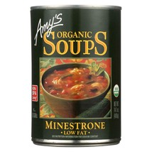 Amy's Organic Low Fat Minestrone Soup 14.1 oz - $4.94