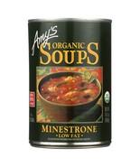 Amy's Organic Low Fat Minestrone Soup 14.1 oz - $4.94