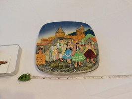 Royal Doulton Group 1973 Christmas In Mexico Catholic Church Collectors ... - $44.54