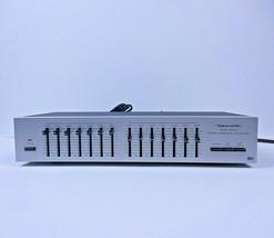VTG Realistic Radio Shack Tandy 31-1989 Graphic Equalizer EX Midi 7+7 Se... - $68.60