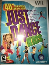 Just Dance Kids (Nintendo Wii, 2010) Tested working Complete - $6.88