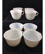 """Corning Pyrex Flat Cup 2 3/4"""" ~ Winter Frost White ~ #19 - $9.89"""