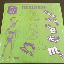 The Masonics Down Among The Dead Men LP Garage Rock Punk Rock & Roll record - $113.15