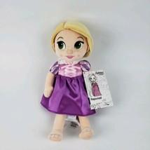 Disney Animators Collection Rapunzel Plush Doll 12 Inch #LA - $23.26 CAD
