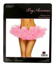 NEW LEG AVENUE WOMEN'S SEXY TUTU BALLET DANCE SKIRT A1705 ONE SIZE PINK image 2