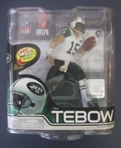 TIM TEBOW MCFARLANE SERIES 31 NEW YORK JETS WHITE JERSEY NEW IN PACKAGE - $5.93