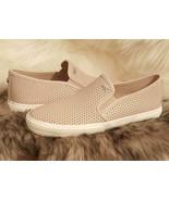 "New  MICHAEL KORS ""Keaton"" Perforated Pink Leather Slip-ons Sneakers 7.5... - $59.99"