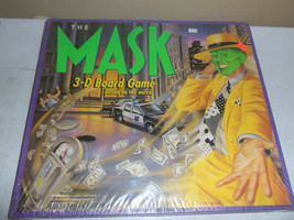 NEW Parker Brothers The Mask 3-D Board Game Based on Jim Carey Movie SEALED - $39.55