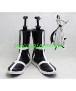 Bleach Ulquiorra cifer cos Cosplay Boots Shoes shoe boot short ver #15YJZ32 - $62.00