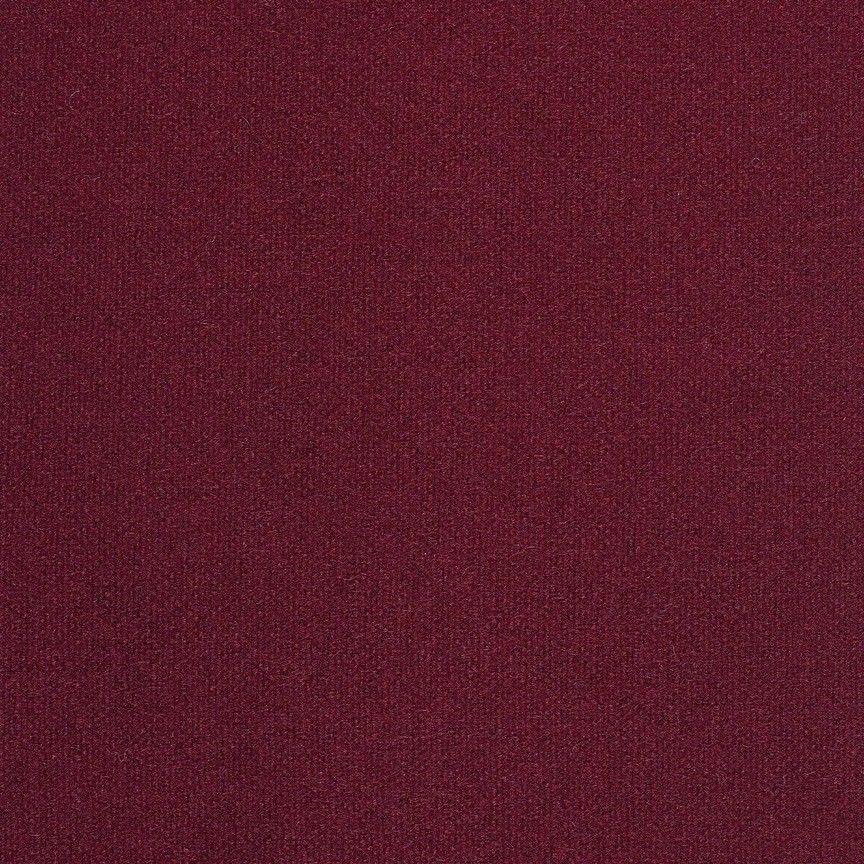 1.5 yds Maharam Upholstery Fabric Kvadrat Tonus Burgundy Wool 460800–610 NQ