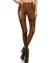 Star Wars Chewbacca Women's Cosplay Fitted Pants Legging - $24.99