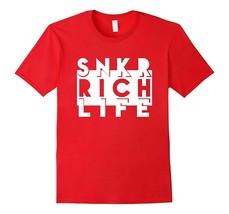 New Tee - Sneaker Rich Life T-Tee Sneaker Heads Basketball Shoes Men - $19.95+