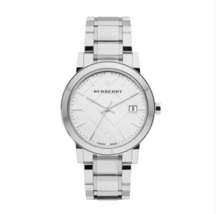 Burberry Men's BU9000 Large Check Stainless Steel Bracelet Watch. - $165.93