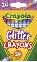 Crayola Glitter Crayons 24 Pack x 2 boxes! NEW! FREE SHIP!!! - $12.99