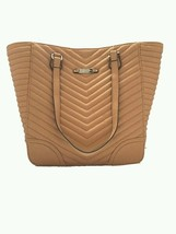 NWT Jessica Simpson Carmel Color Puffed Faux Leather Hand/Shoulder Tote. - $68.31