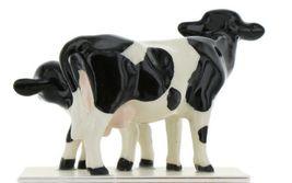 Hagen Renaker Miniature Holstein Cow and Calf Ceramic Figurine Set image 6