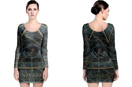 Iluminati The Universe Women's Long Sleeve Bodycon Dress - $25.80+