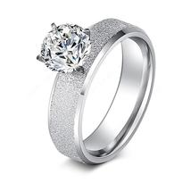 Women Sequin Stainless Steel Rings Fashion High Quality Ring (7, 8, 9) - $14.39