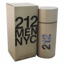 Carolina Herrera 212 By Carolina Herrera For Men. Eau De Toilette Spray ... - $78.69