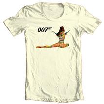 James Bond T-shirt 007 Original Casino Royal 1970 vintage cotton graphic tee image 1