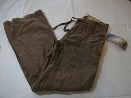 Ragazze UNIONBAY 8R Reg Leggero Cargo Pantaloni Nwt Bark Marrone Nuovo U... - $18.72