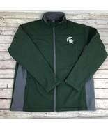 NWT! Michigan State Spartans MSU Fleece interior Mock-Neck Zipper  - $44.99