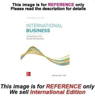 International Business: Competing in the Global Marketplace, 13th editio... - $54.90