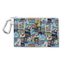 Tomorrowland Disney Inspired Canvas Zip Pouch - $15.99+