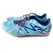 New Balance Women 10.5 Silent Hunter Blue Running Track Cleats Sprint WMD500B3 - $19.75