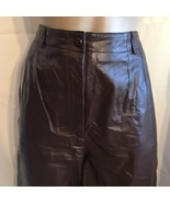 JH Collectibles Brown Leather pants 10 - $64.95
