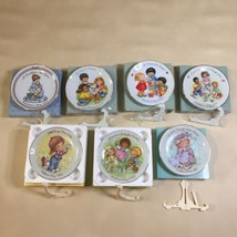 NEW Set Of 7 Collectible Avon Mother's Day Decorative Plates 1981-83, 87, 89-91 - $19.79
