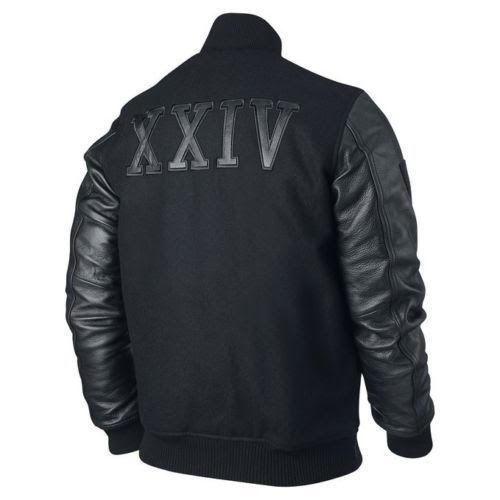 """KOBE Destroyer XXIV Jacket """"Battle"""" - Leather Sleeves -100% Money Back Guarantee"""