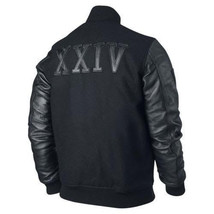 "KOBE Destroyer XXIV Jacket ""Battle"" - Leather Sleeves -100% Money Back G... - $84.99"